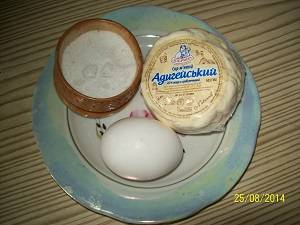 ингредиенты для сырной плацинды
