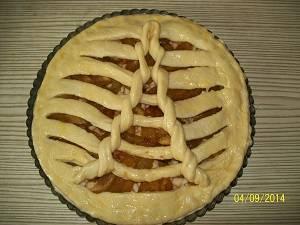 формируем фруктовый пирог