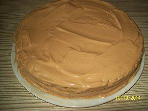 формируем торт коровка