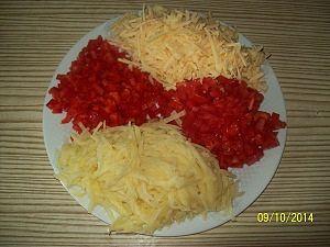 подготовка продуктов для овощной запеканки