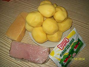 ингредиенты для вкусная картошка в духовке