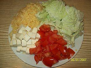 нарезка для салата цезарь