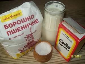 продукты для теста