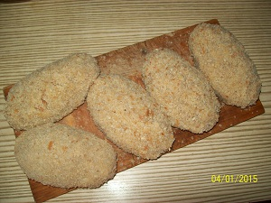 котлеты по-донбасски в панировке