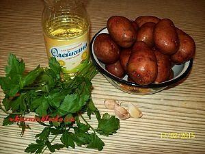 ингредиенты для картошки в мундире
