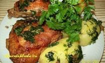 как приготовить куриные бёдра в духовке