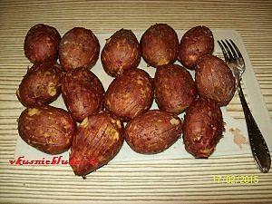 подготовка картошки в мундире