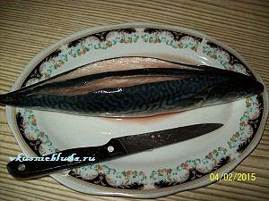 разрежим и выпотрошим рыбу