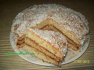 подача простого вкусного торта