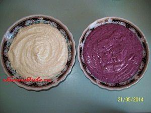 два творожных крема
