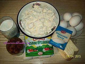 продукты для творожной пасхи