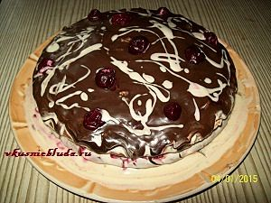 рецепт торта пьяная вишня