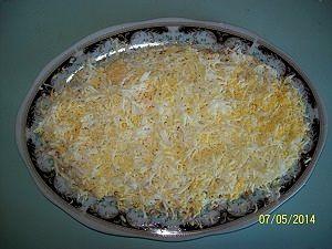 слой яиц для салата с морковкой