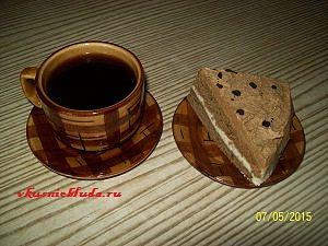 кофейный торт с кофе