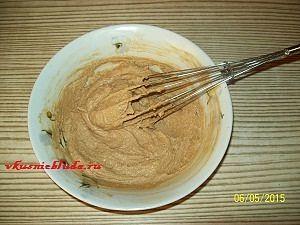 коричневый кофейный торт