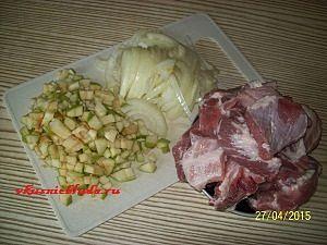 подготовка ингредиентов для квашеной катусты