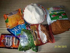 продукты для торта из желе