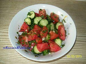 салат с помидор