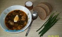 как приготовить суп со щавелем