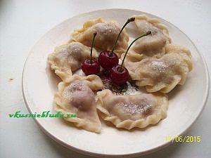как приготовить вкусные вареники с вишней