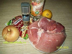 продукты для шашлыка в духовке