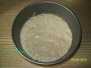 готовая опара для вишнёвого пирога