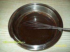 готовим глазурь для шоколадного медовика