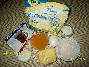 ингредиенты для шоколадного медовика