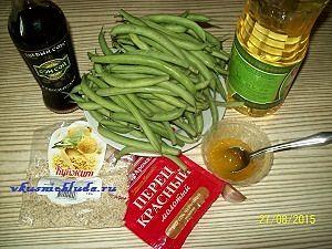 ингредиенты для жареной фасоли