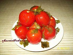 как быстро засолить помидоры