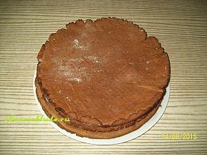 медово-шоколадные коржи