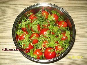 рецепт быстрого соления помидор