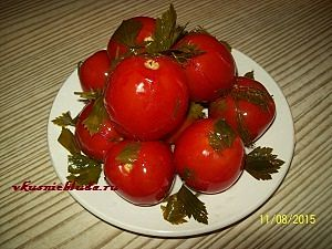 солёные помидоры быстро