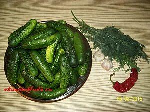 ингредиенты для маринованных огурцов