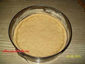 корж для виноградного пирога