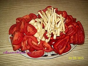 овощи для вкусной аджики