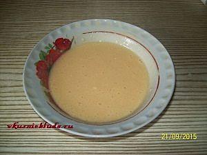 яичная смесь для капустных оладий