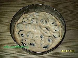 формируем сливовый пирог