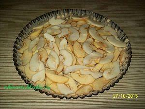формируем яблочный пирог