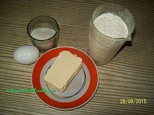 ингредиенты для сливового пирога