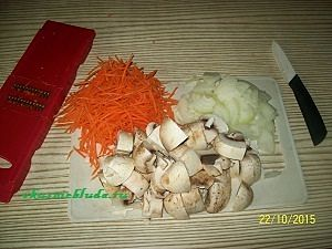 овощи для фаршированного гуся