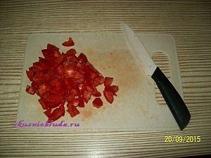помидоры для салата из баклажан