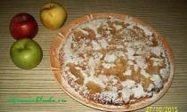 простой рецепт шарлотки с яблоками
