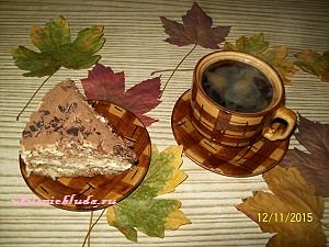 тирамису и кофе