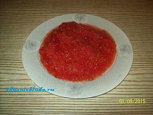 тёртые помидоры для начинки