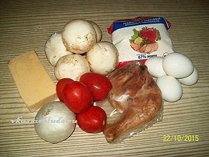 ингредиенты для салата чикаго