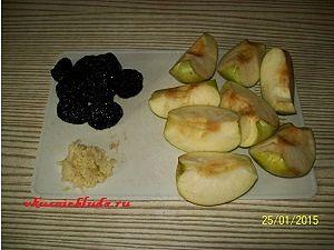 начинка для утки с яблоками