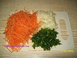 овощи для голубцов