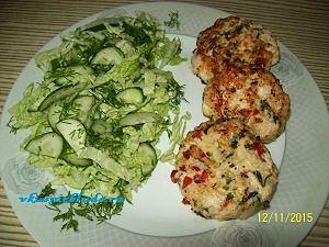 рецепт куриных котлет с овощами