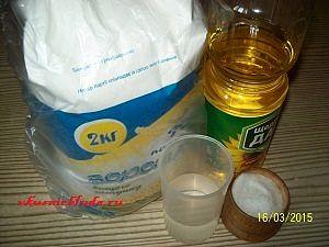 ингредиенты для пирожков с капустой